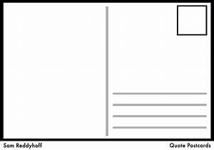 Postcard template for word blank postcard template for for Postcards templates for word
