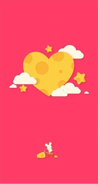 Cheese Phone Sweet Aesthetic Valentines Least Moon