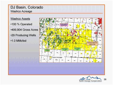 DJ Basin, ColoradoWashco AcreageTeton AcreageWashco ...