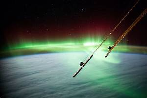 Solar Northern Lights Aurora Near Australia Nasa International Space Station