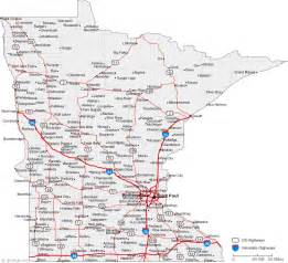 mn road map map of minnesota cities minnesota road map