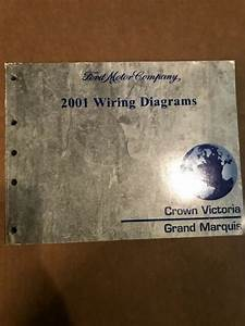 Oem 2001 Ford Crown Victoria Mercury Grand Marquis Wiring