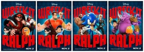 disneys wreck  ralph coloring sheets  theaters