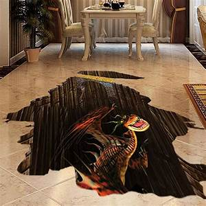D floor art bathroom