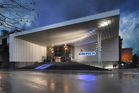 kinepolis  theatre simes spa luce  larchitettura