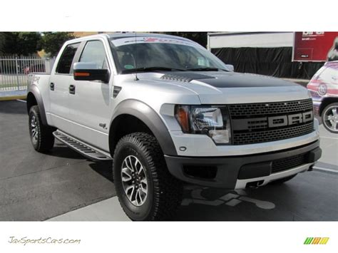 2012 Ford F150 SVT Raptor SuperCrew 4x4 in Ingot Silver