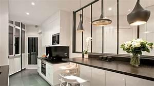 comment installer une verriere dans sa cuisine With verriere entre cuisine et salle À manger pour deco cuisine