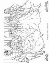 Muszkieterki Musketeers Kolorowanki Kitapları Boyama sketch template
