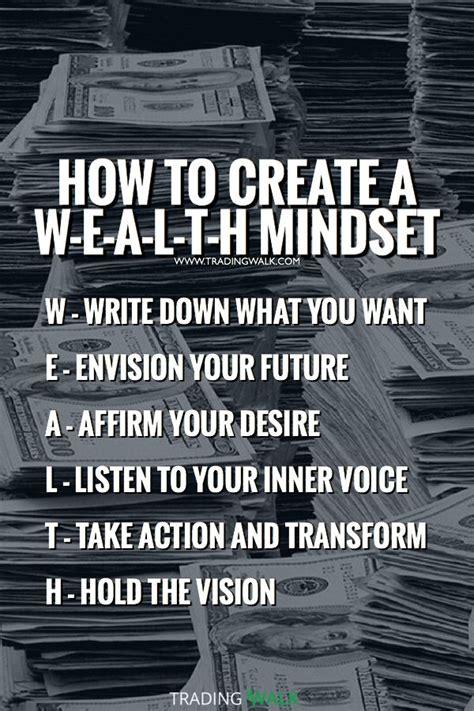 wealth mindset practice  law  attraction habits