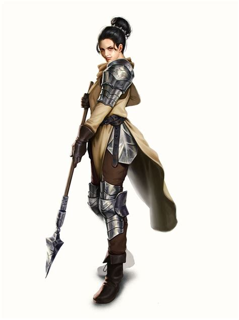 lady knight  mannequin atelier female fighter paladin