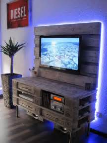 1001 id 233 es meuble tv palette le recyclage en cha 238 ne