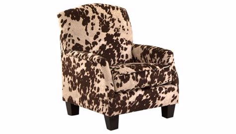 Cowhide Accent Chair by Cowhide Accent Chair Home Zone Furniture Living Room