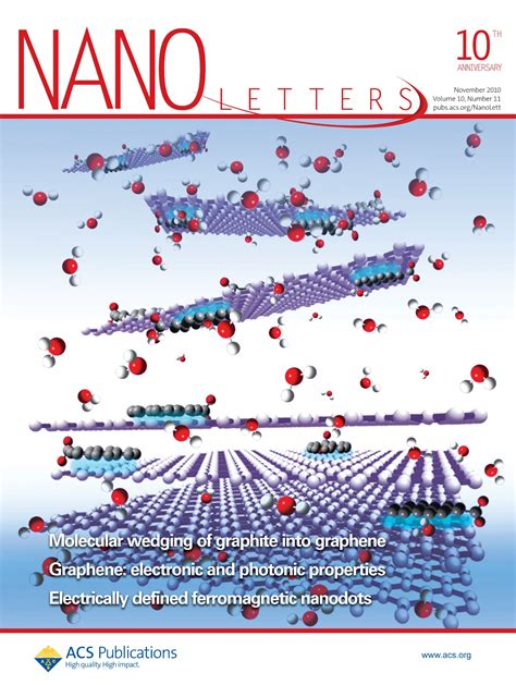 Nano Letters Cover Letter by Publications