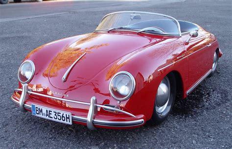first porsche car porsche 356 speedster the very first porsche based on