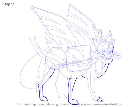 step  step   draw zacian  pokemon drawingtutorialscom