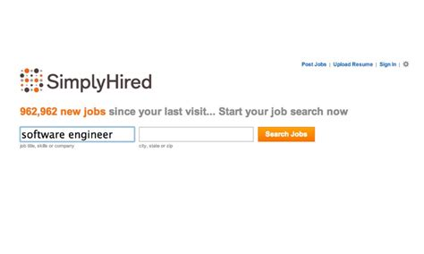 Upload Resume To Simply Hired by Simply Hired 5 Simple Ways To Search With Simply Hired Simply Hired