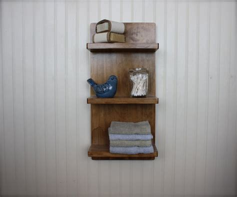 bathroom wall shelves casual cottage cottage wall shelf tiered wall shelf with three small