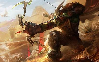 Wow Hunter Warcraft Troll Orc 4k Wallpapers