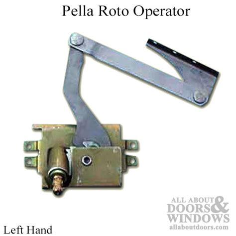 awning casement window operators pella hardware