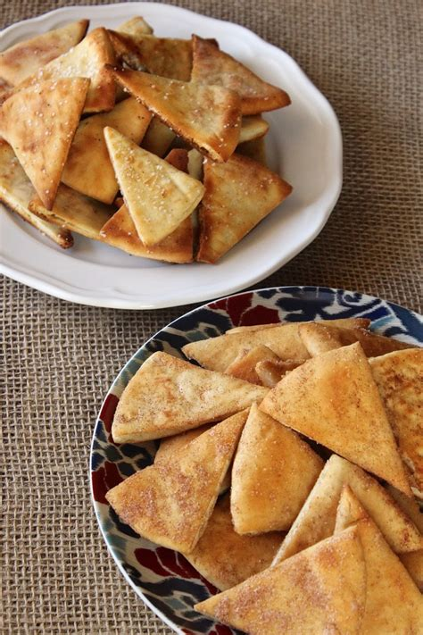 Easy Pita Chips - One Sweet & One Salty ⋆ The Sunday Glutton