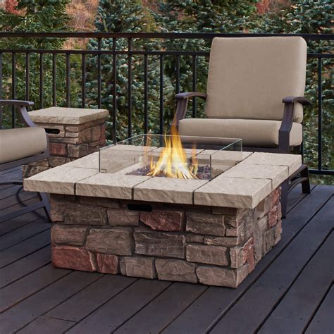 patio propane fire pit table top 15 types of propane patio fire pits with table buying