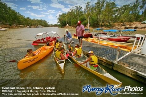 Echuca Boat Canoe Hire Echuca Vic by Echuca Photos