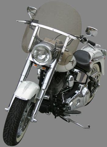 classic ii windshield   fat boy special heritage  nacelle headlight accesory flstf flstn