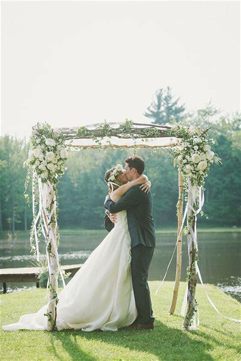 diy floral wedding arch decoration ideas