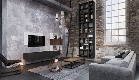 Meubles De Salon Contemporains Esprit Loft