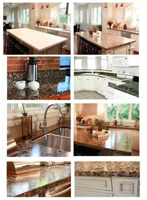 faux granite countertops for the home