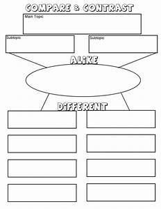 34 best slp compare and contrast images on pinterest With comparison graphic organizer template