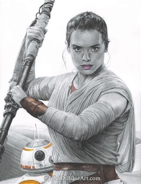 Rey And Bb8 Wallpaper Star Wars Johndibiase Com