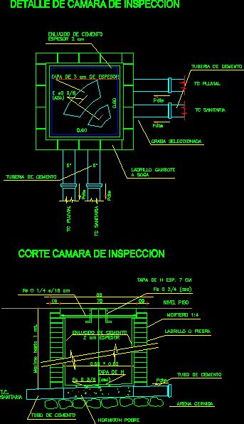 inspection chamber dwg block  autocad designs cad