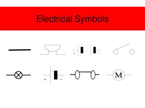 electric circuit symbols by jimbob37 teaching resources