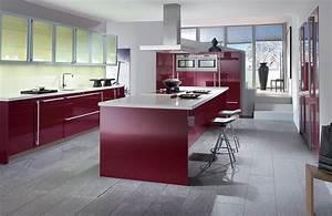 cuisine moderne et decoration tendance construire ma maison With exemple de decoration de jardin 14 couleur cuisine la cuisine blanche de style contemporain
