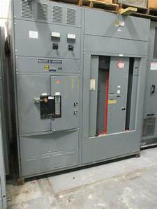 Square D 2000 Amp Main Breaker 3 Phase 277  480 Volt