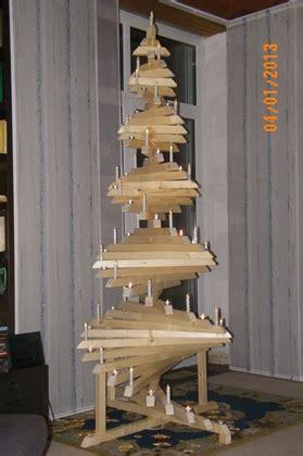 bastelfux weihnachtsbaum holz   diy