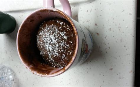 recette cuisine micro onde recette mug cake coulant au chocolat micro onde pas