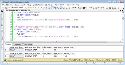 sql query to create table nested loops sql