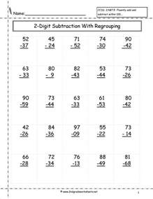 HD wallpapers counting up method of subtraction worksheets
