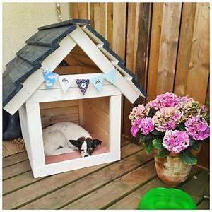 Hundehütte Für Drinnen : diy hundeh tte ganz einfach selbst gebaut hundeh tten ~ Michelbontemps.com Haus und Dekorationen