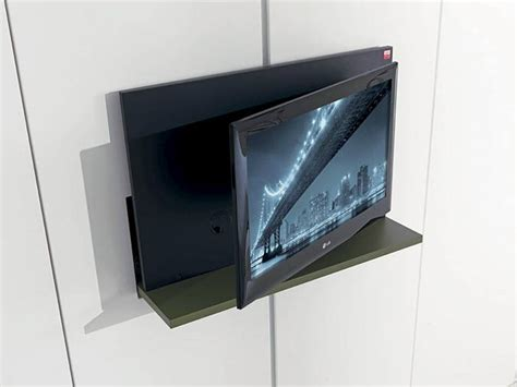 meuble tv pivotant escamotable ghost by fimar