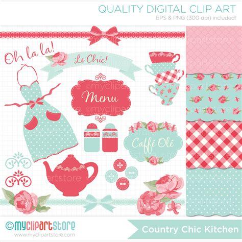 shabby chic clipart kitchen tea clipart combo shabby chic roses tea party