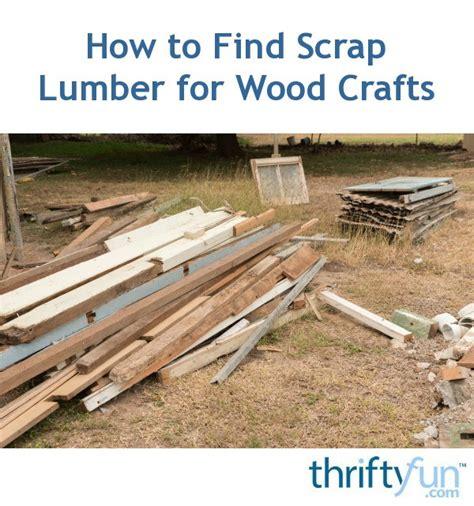 find scrap lumber  wood crafts thriftyfun