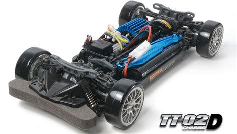 Tamiya 58584 1/10 Rc Car Kit Tt02-d Drift Spec Chassis W