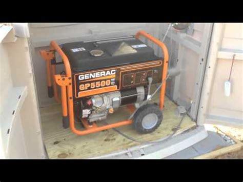 Generac Portable Generator Shed by Outdoor Enclosure For Portable Generator Gp5500