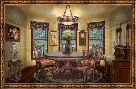 Victorian Dining Room   Marceladick.com