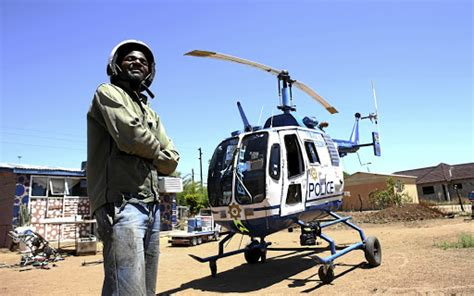Meet The Man Who Built A Helicopter In His Backyard