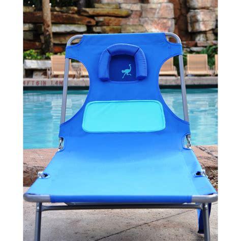 Ostrich Ladies Chaise Lounger - Beach Lounger - BeachKit