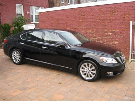 winter prep black lexus ls